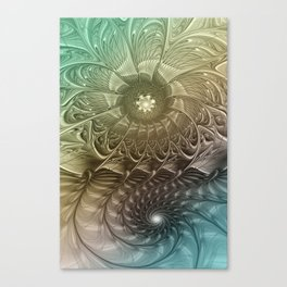 Togetherness, Fractal Art Abstract Canvas Print