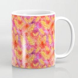 Australian Native Floral Print - Grevillea Flowers Coffee Mug