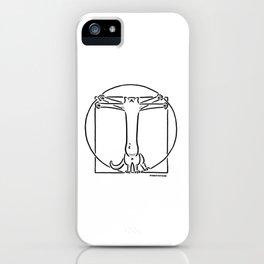 Vitruviancat iPhone Case