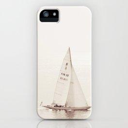 Sailing Seas iPhone Case