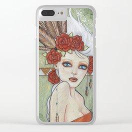 Terracotta Clear iPhone Case