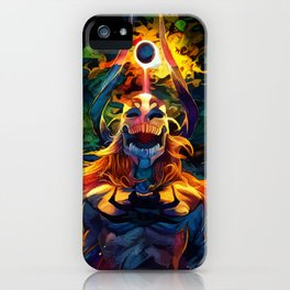 Colorful Hollow iPhone Case