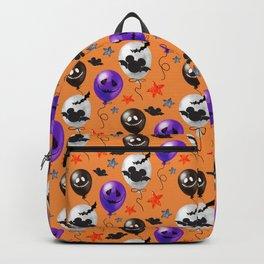 Halloween Mouse Ears Bats & Balloons Backpack