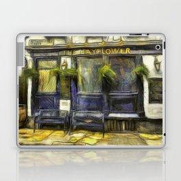 The Mayflower Pub London Van Gogh Laptop & iPad Skin