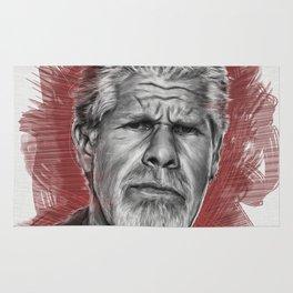 Clay Morrow Portrait -SOA 01 Rug