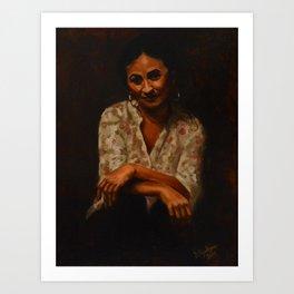 Spanish Woman Art Print