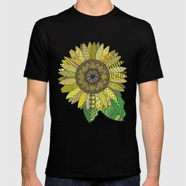 Sunflower Mandala T-shirt