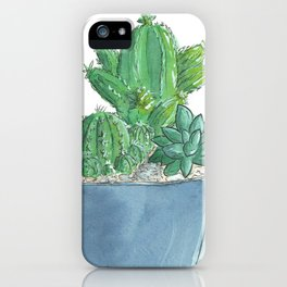 Succulents and Cacti iPhone Case