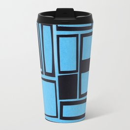 Windows & Frames - Blue Travel Mug