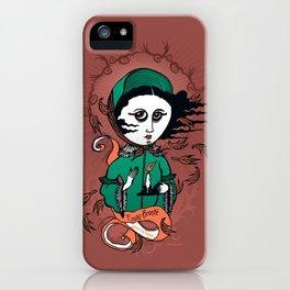 Emily Brontë Holy Writer iPhone Case