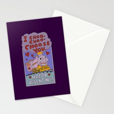 The Simpsons: I choo-choo-choose you Stationery Cards