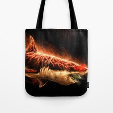 Great White Sharks #2 Tote Bag