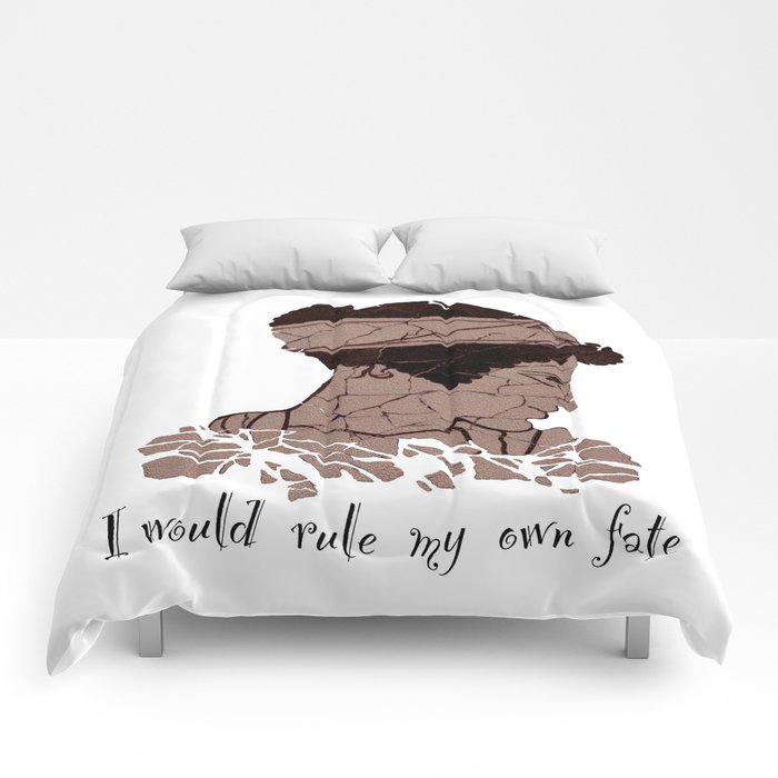 I Would Rule my Own Fate - Helen of Sparta Comforters