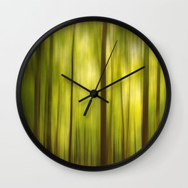 Warmth of the Forests Colors Wall Clock