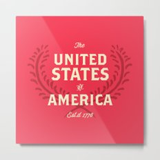 The United States of America Metal Print