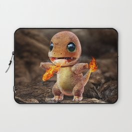Realistic Charmandar Laptop Sleeve
