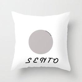 melasento Throw Pillow