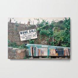 Book Sale Metal Print