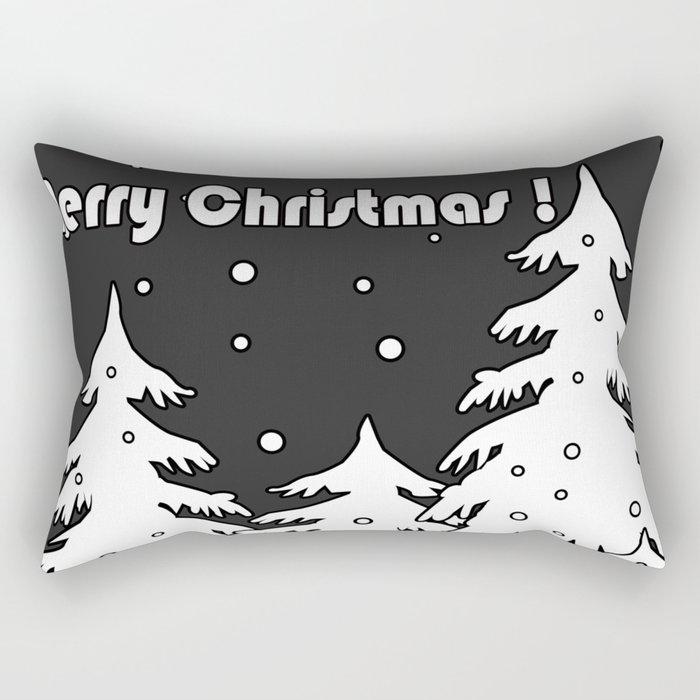 Merry Christmas ! Rectangular Pillow