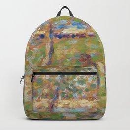 """Study for """"La Grande Jatte"""" Backpack"""