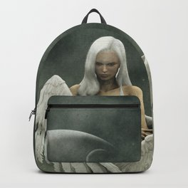White divine angel Backpack