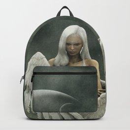 White divine angel Backpack