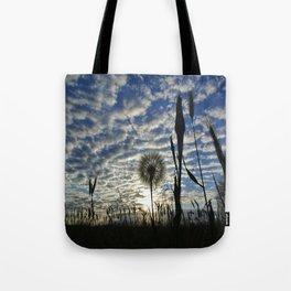 Dandilion Sunrise  Tote Bag