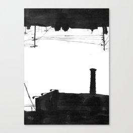 Railway III Canvas Print