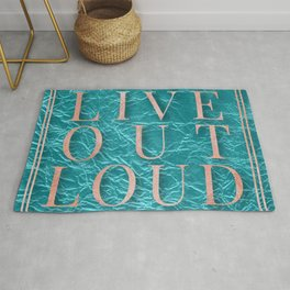 Live Out Load Rug