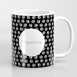 Pawsitive Paws - dog lover animals pattern Coffee Mug