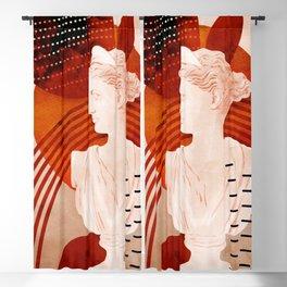 diana artemis bust Blackout Curtain