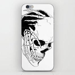 Skull #7 (Creeping Hands) iPhone Skin