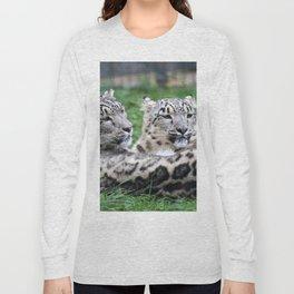 Aqua_Leopard_20180106_by_JAMColorsSpecial Long Sleeve T-shirt