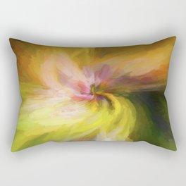 Spring Twirl Impressions Rectangular Pillow