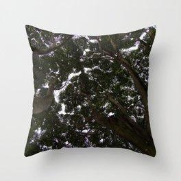 Treetop - Shinrin-Yoku Throw Pillow