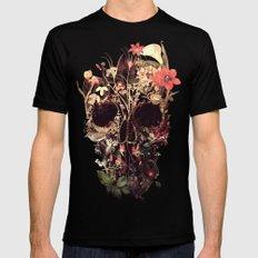 Bloom Skull Black X-LARGE Mens Fitted Tee