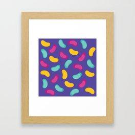 The Beanies Wizard Framed Art Print