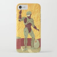 robocop iPhone & iPod Cases featuring Robocop by James White