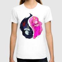 yin yang T-shirts featuring Yin+Yang by laPanny