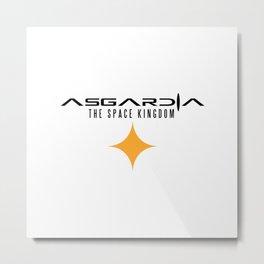 ASGARDIA THE SPACE KINGDOM Metal Print