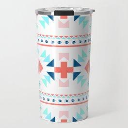 geometry navajo pattern Travel Mug
