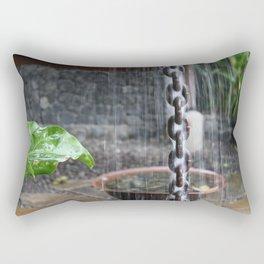 Chain in the Rain Rectangular Pillow