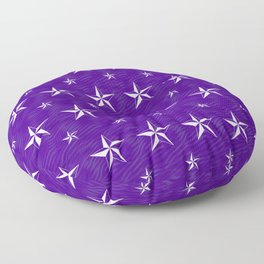 Stella Polaris Violet Design Floor Pillow