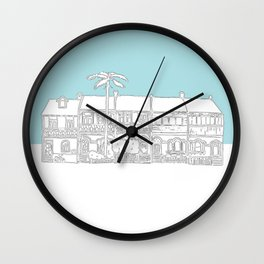 Camperdown Park Terraces - Blue Wall Clock