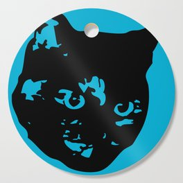 Tortoiseshell Kitty Cutting Board