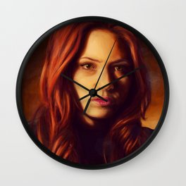 The First Face This Face Saw Wall Clock