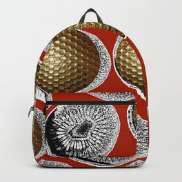 RED, WHITE & GOLD Backpack