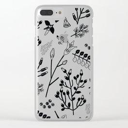 Spring Sprig Multi Clear iPhone Case
