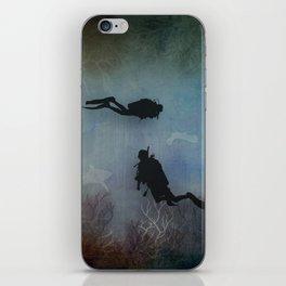 Scuba Divers iPhone Skin