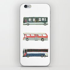 Buses iPhone & iPod Skin